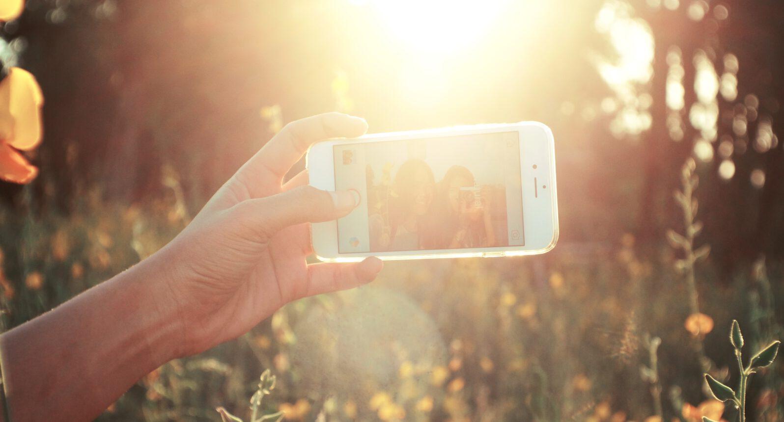 Generation Selfie wird gesund und fit