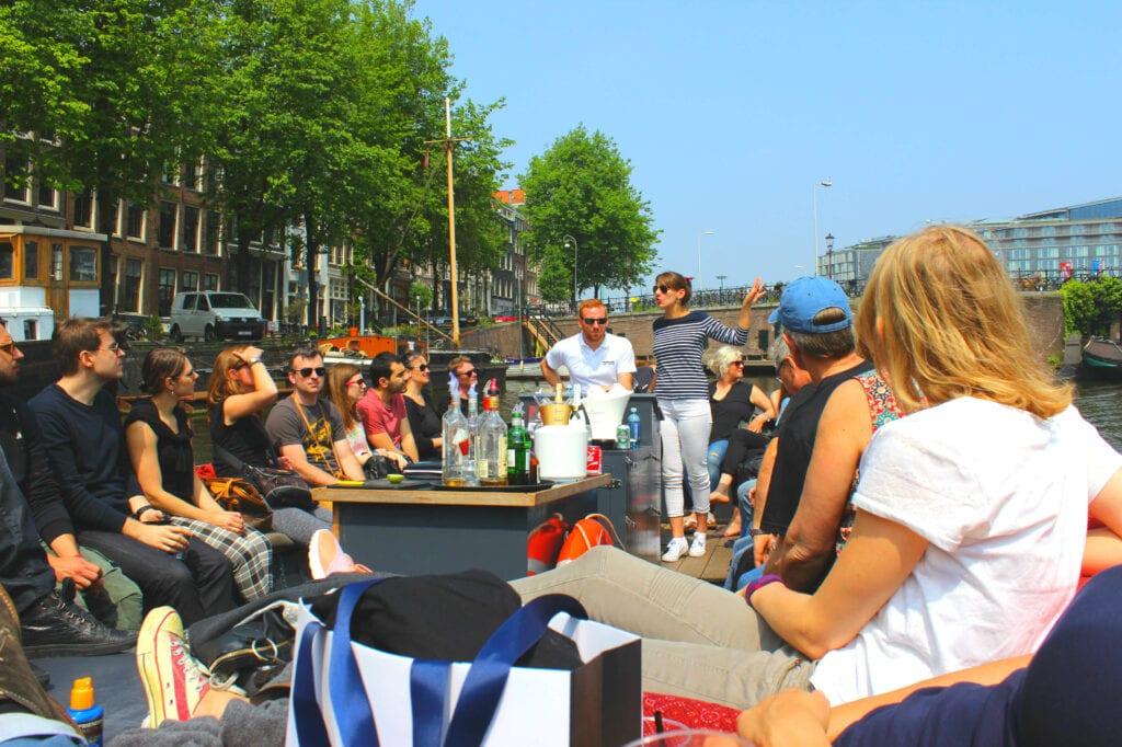 48 Stunden in Amsterdam: nicht ohne Bootsfahrt