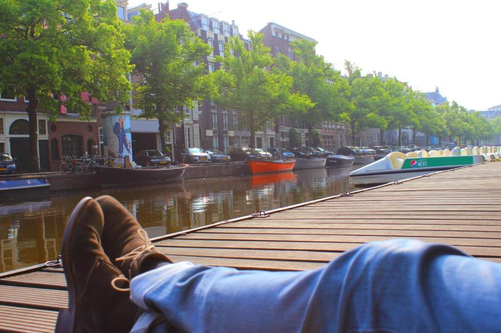 48 Stunden in Amsterdam ganz entspannt