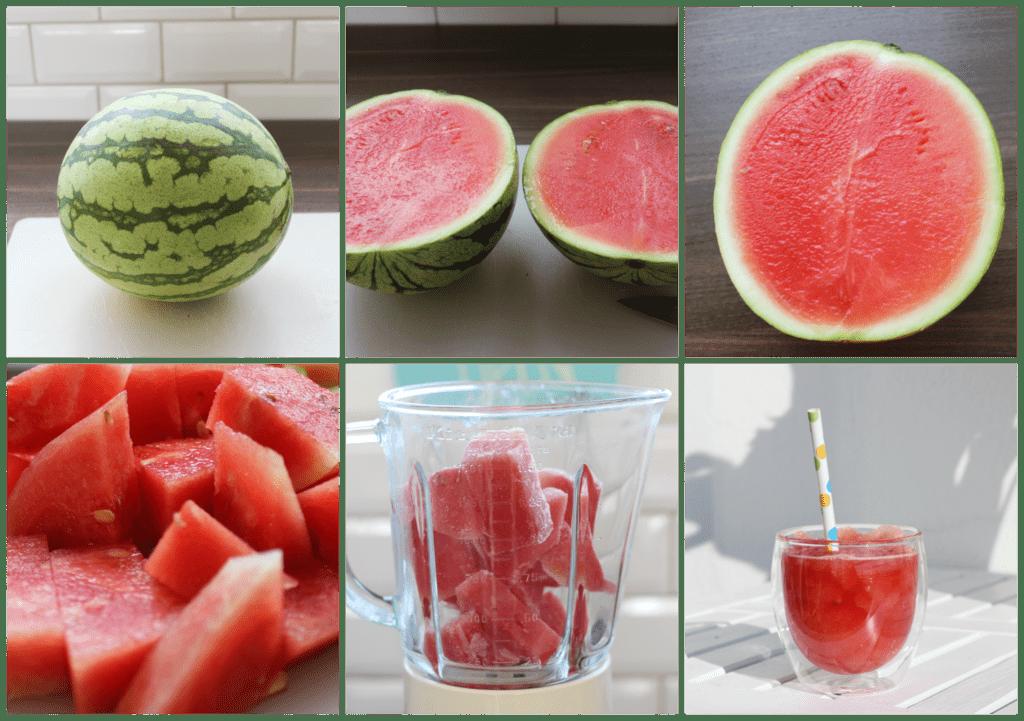 Wassermelone Transparent