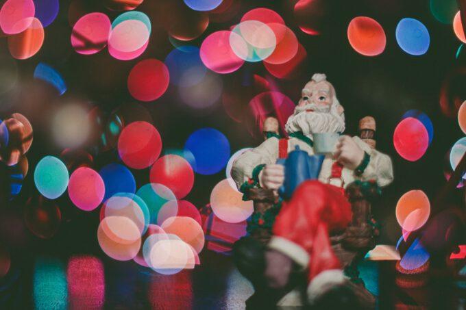 Weihnachtsmusik mit Santa Claus