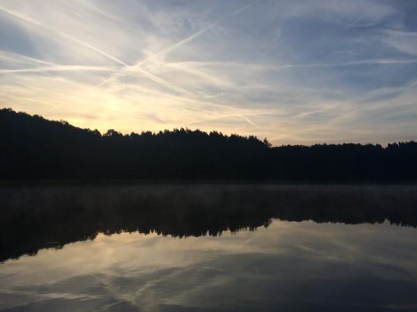 Sonnenuntergang auf der Havel