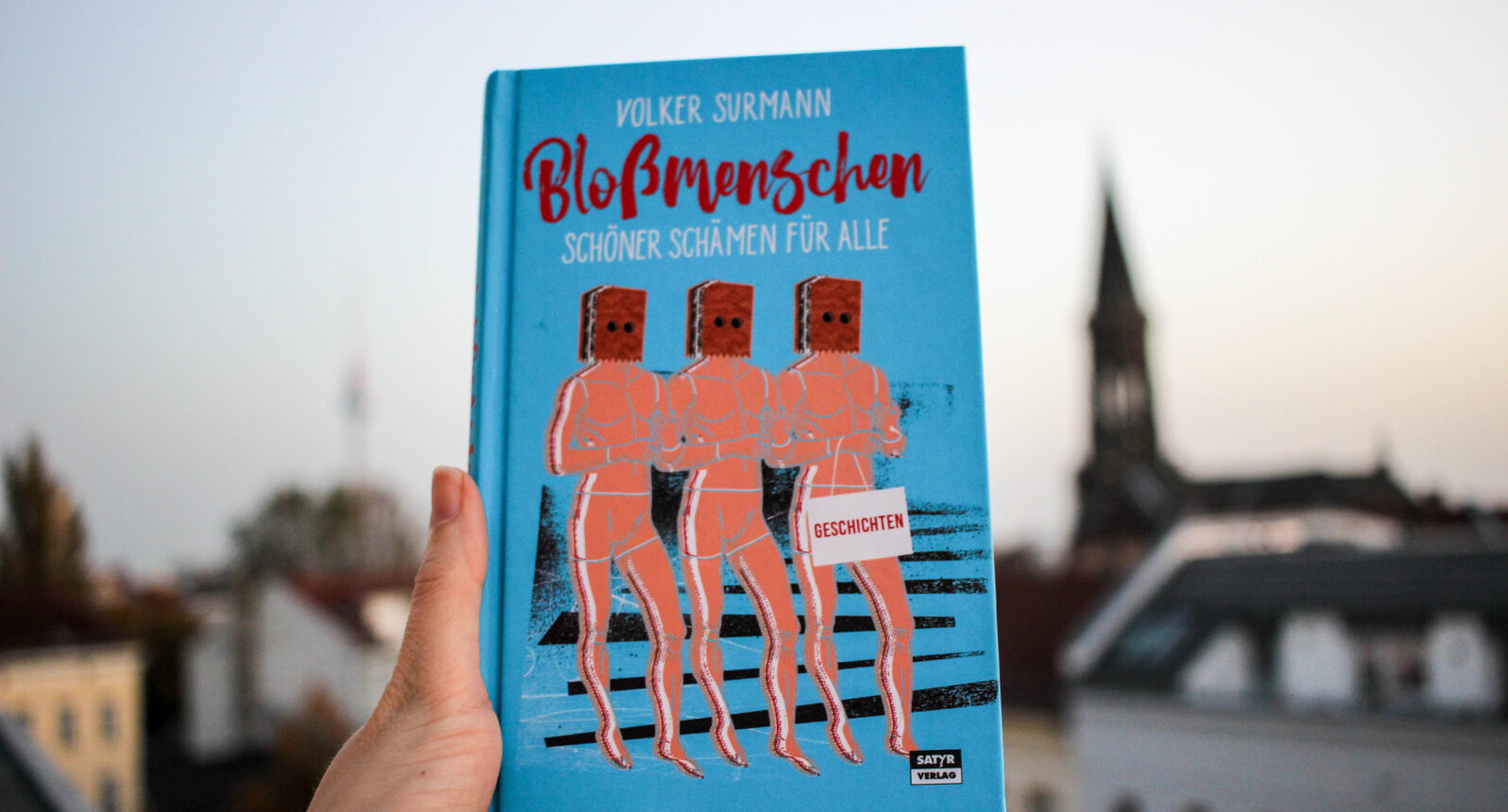 """Volker Surmann: """"Bloßmenschen"""""""