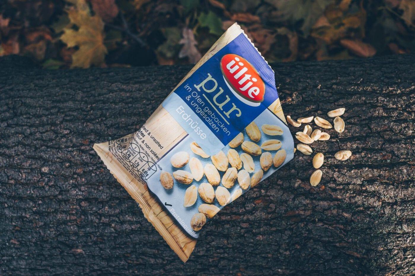 Mein perfekter Wander-Snack: Erdnüsse von ültje