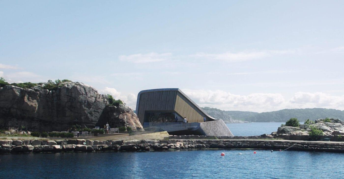 Under: Europas einziges Unterwasserrestaurant