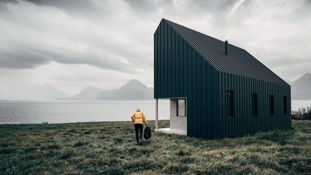 Nachhaltige Hütten zum Selberbauen