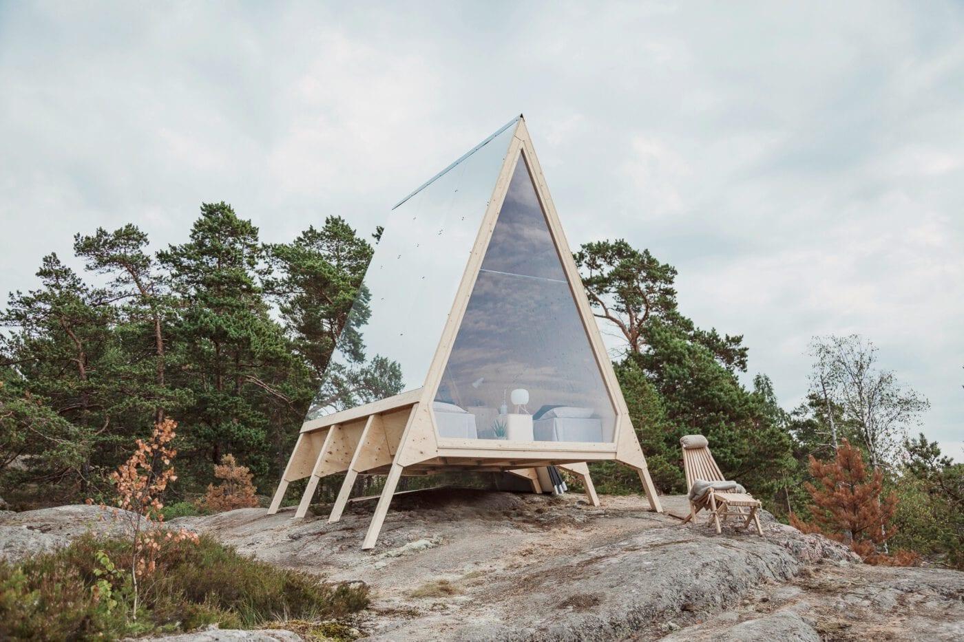 Nachhaltige Hütten und Kabinen in Skandinavien
